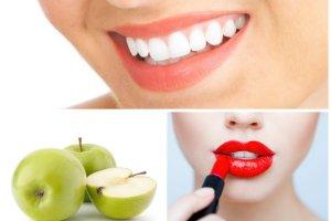 Triki na białe zęby