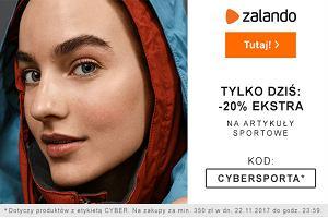 Tylko dziś: -20% na artykuły sportowe w Zalando. Kupujcie taniej z kodem zniżkowym!