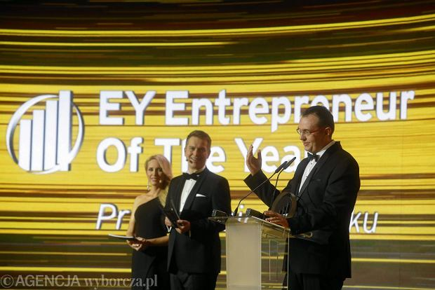 Wręczenie nagród Przedsiebiorca Roku 2017