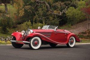 Aukcje   9,9 miliona dolarów za klasycznego Mercedesa