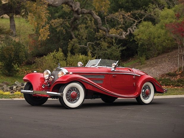Aukcje | 9,9 miliona dolarów za klasycznego Mercedesa