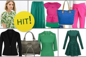 Kobiecy poradnik: z czym ��czy� zielone odcienie