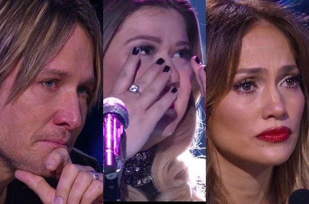 Keith Urban, Kelly Clarkson, Jennifer Lopez