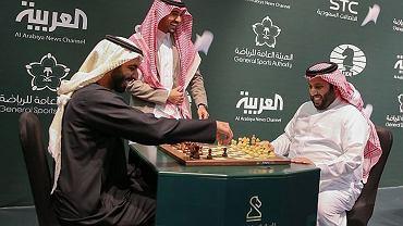 Międzynarodowy turniej szachowy w Riyadh, Arabia Saudyjska, 25 grudnia 2017.