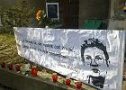 Manifestacja w drugą rocznicę śmierci Jolanty Brzeskiej