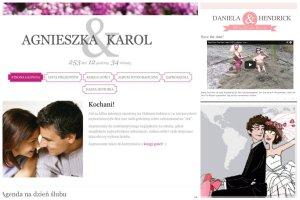 Internetowe strony przedślubne - nowy trend wśród par młodych