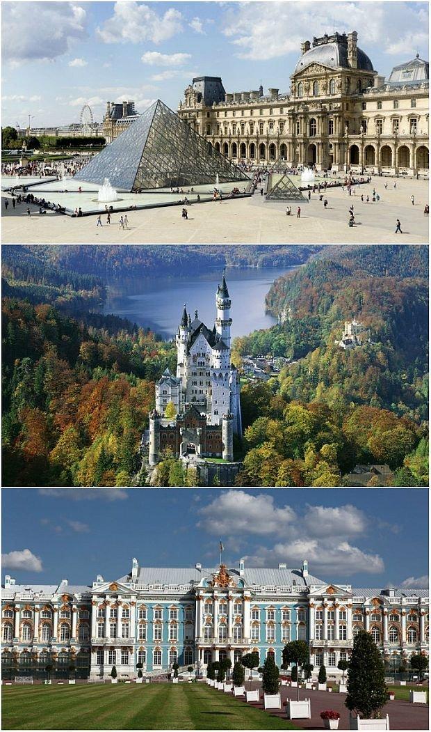 Najczęściej odwiedzane zamki i pałace na świecie - zestawienie portalu Travel and Leisure