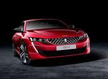 Nowy Peugeot 508 - tuż przed premierą w sieci pojawiły się zdjęcia wersji GT