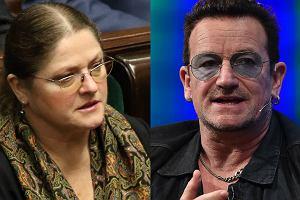 Pawłowicz o Bono: Pewien pieśniarz powiedział tylko to, co wiedział - czyli niewiele
