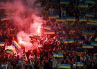 "El. Euro 2016. Kibice ukarani za Bia�oru� - Ukraina. Na trybunach nios�o si� ""Putin to ch..."" [WIDEO]"