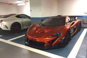 Wy�cigowy McLaren P1 GTR na ulicach Monako
