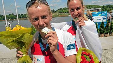 Weronika Deresz i Joanna Dorociak