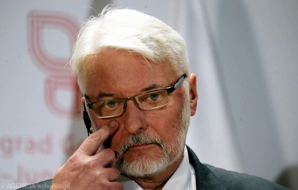 Minister Witold Waszczykwoski