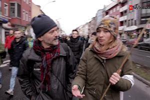 Marsz do Aleppo trwa. Uczestnicy wyruszyli z Berlina 26 grudnia 2016 r.