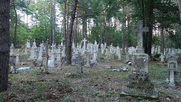Ukraiński cmentarz w Narolu