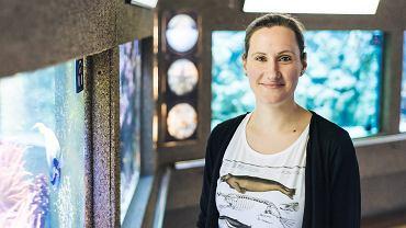 Dominika Wojcieszek, oceanografka z gdyńskiego Akwarium