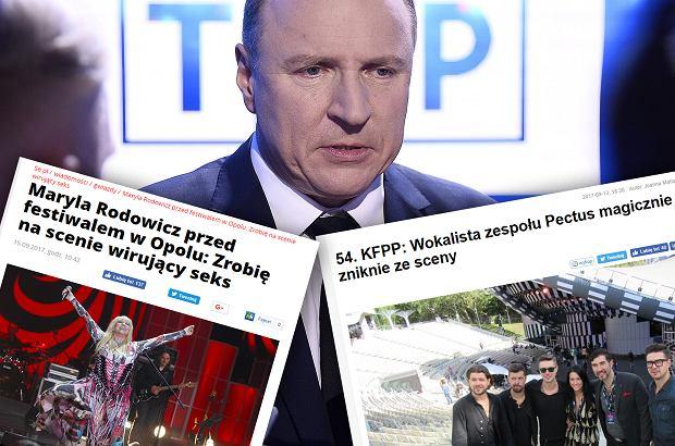 Opole 2017 otoczone jest atmosferą skandalu.Po majowym bojkocie wydarzenia przez artystów miastowycofało się ze współorganizowania imprezy i TVP organizuje ją sama. Niestety, nie idzie jej to najlepiej.
