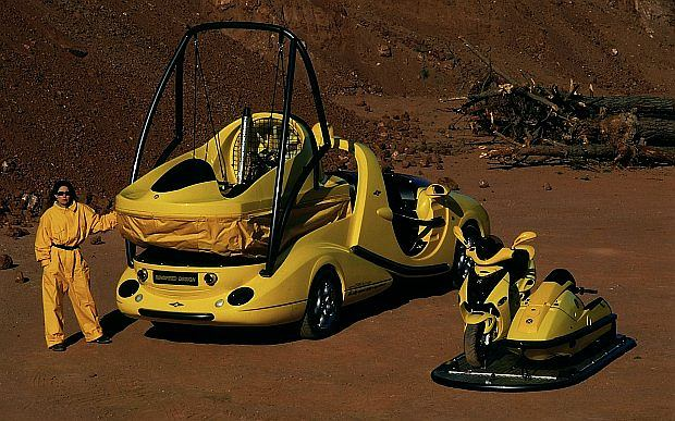 Auto napędzane jest 5,5 litrowym V8 o mocy 347 KM