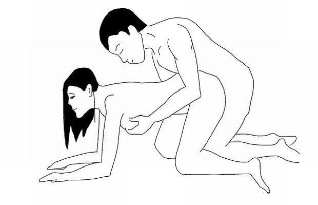 Pozycja seksualna: pozycja na pieska