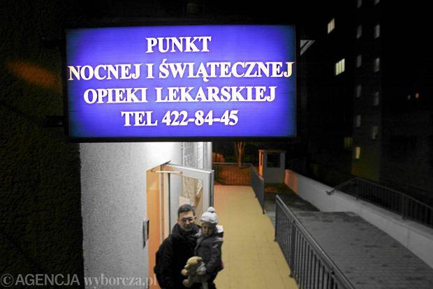 Punkt nocnej i �wi�tecznej opieki medycznej w Szczecinie