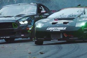 Wideo | Mustang i Murcielago w driftowym pojedynku