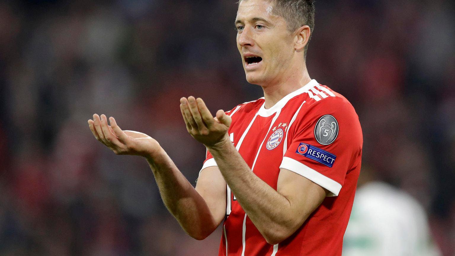7200a7fec Puchar Niemiec. Robert Lewandowski ma żal do kolegów z Bayernu Piłka ...