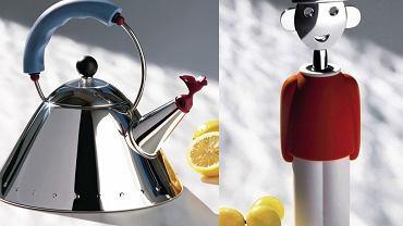 Alessi - czajnik i korkociąg
