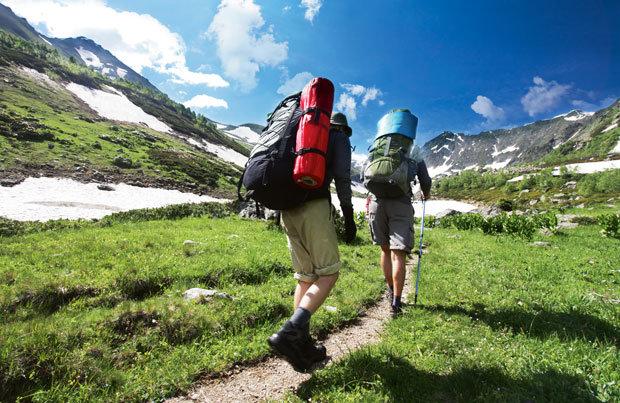 Ubrania na wakacje w górach
