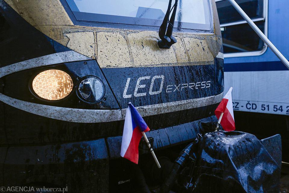 LEO Express z Krakowa do Pragi - pierwszy przejazd.