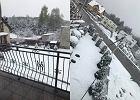 Atak zimy w całej Polsce. Śnieg sypnął w górach, nad morzem, na Mazurach