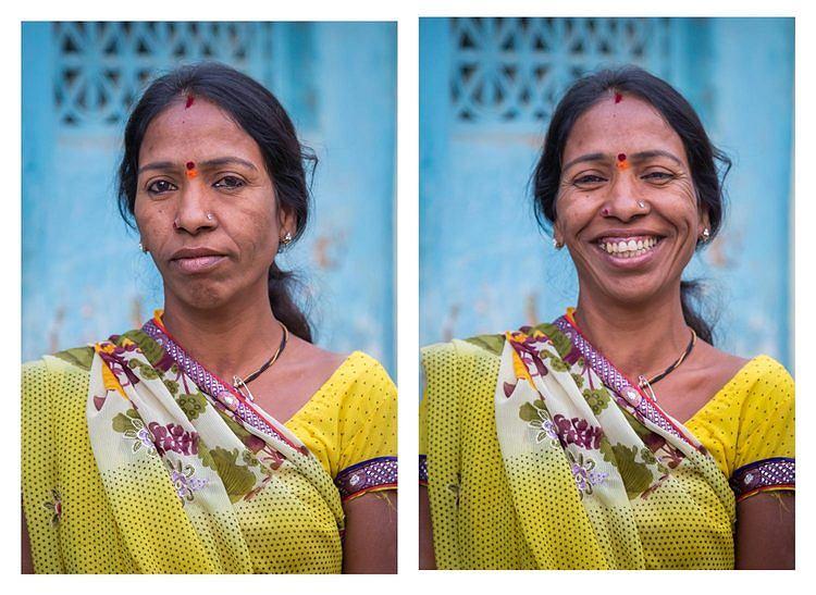 Znalezione obrazy dla zapytania So I asked them to smile