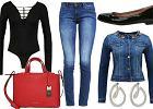 Jeansowe rurki w 3 stylizacjach
