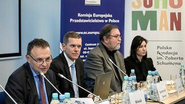 Konferencja 'Co dalej z EURO' w przedstawicielstwie Komisji Europejskiej w Polsce