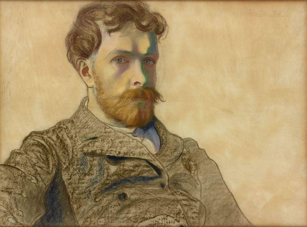 Stanisław Wyspiański, 'Autoportret', pastel, 1903 r. / Pracownia fot. MNK