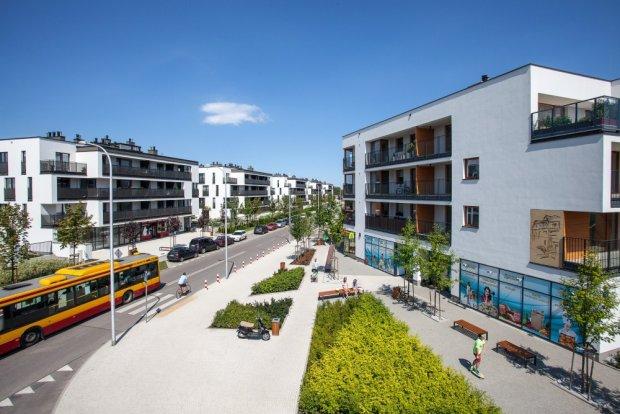 Osiedle Wilno firmy Dom Development przy ul. Wiernej na Targówku