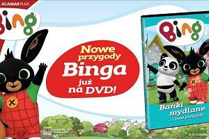 """""""Bing, część 5: Bańki mydlane i inne przygody"""" już na DVD!"""