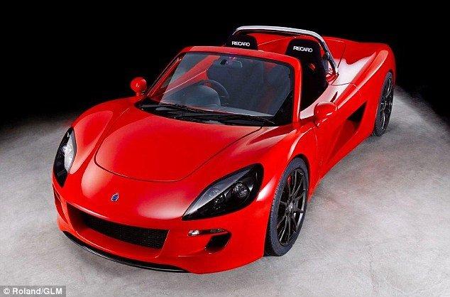 ZZ, elektryczny samochód GLM