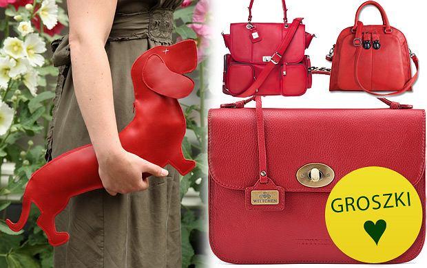 ceca05200d18e Ogniście czerwone torebki na zimne dni - ponad 100 propozycji