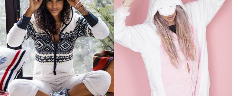 Piżama-kombinezon - oficjalny strój fanek seriali i kanapowego leniuchowania