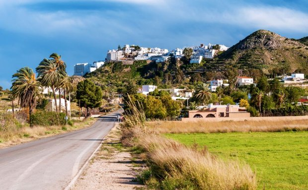 Wioska Mojacar niedaleko Almerii, Hiszpania / fot. Shutterstock