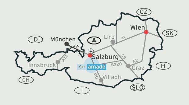 Ski amade, narty w austrii
