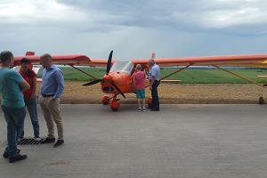 Ukraińscy lotnicy bez wiz wylądowali w Gierałtowiczkach