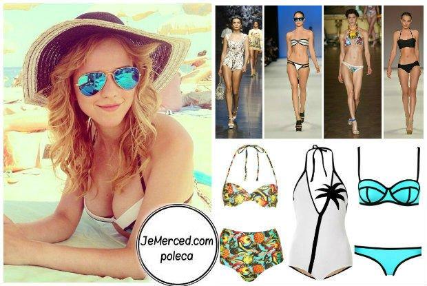 Jak ubrać się na plażę, żeby wyglądać ładnie i modnie - Jessica Mercedes poleca najmodniejsze bikini na lato 2014