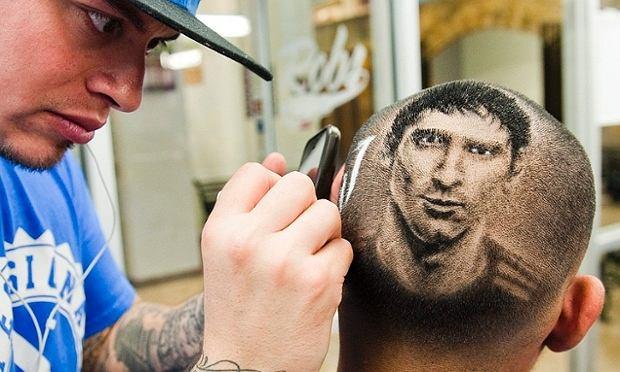 Messi I Neymar Jak żywi Tylko że Zrobieni Z Włosów