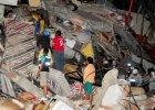 Silne trz�sienie ziemi w Ekwadorze. Zgin�o 77 os�b