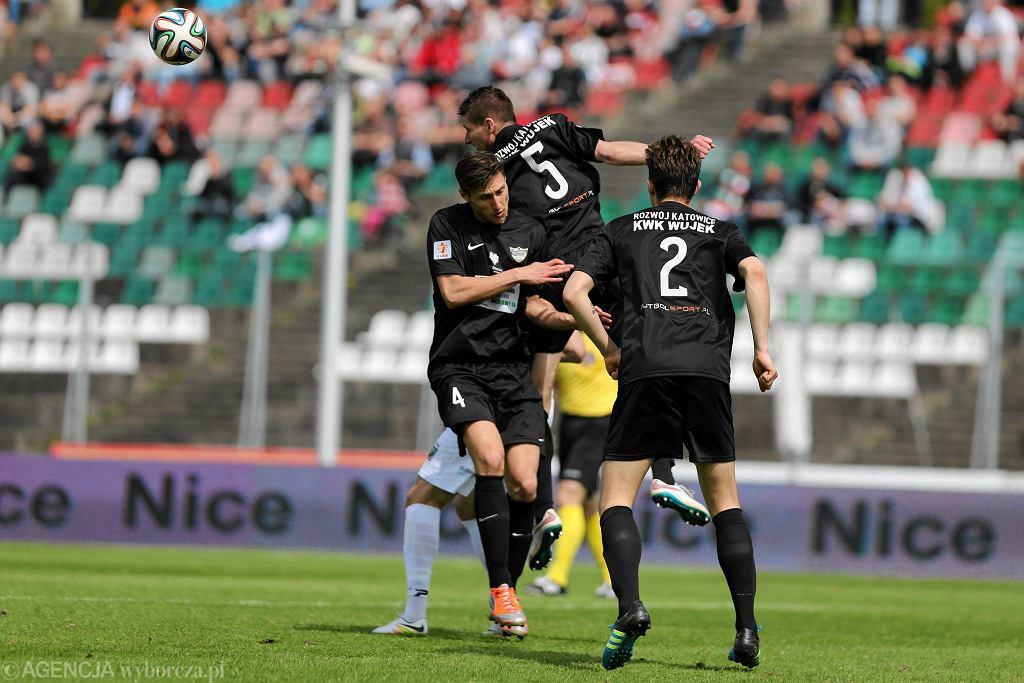 Piłkarze Rozwoju Katowice