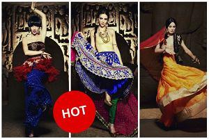 """""""Top model. Zosta� modelk�"""": Dziewczyny w indyjskim sari w sesji dla """"Vogue India"""". Kt�re zdj�cie jest najlepsze? [SONDA]"""
