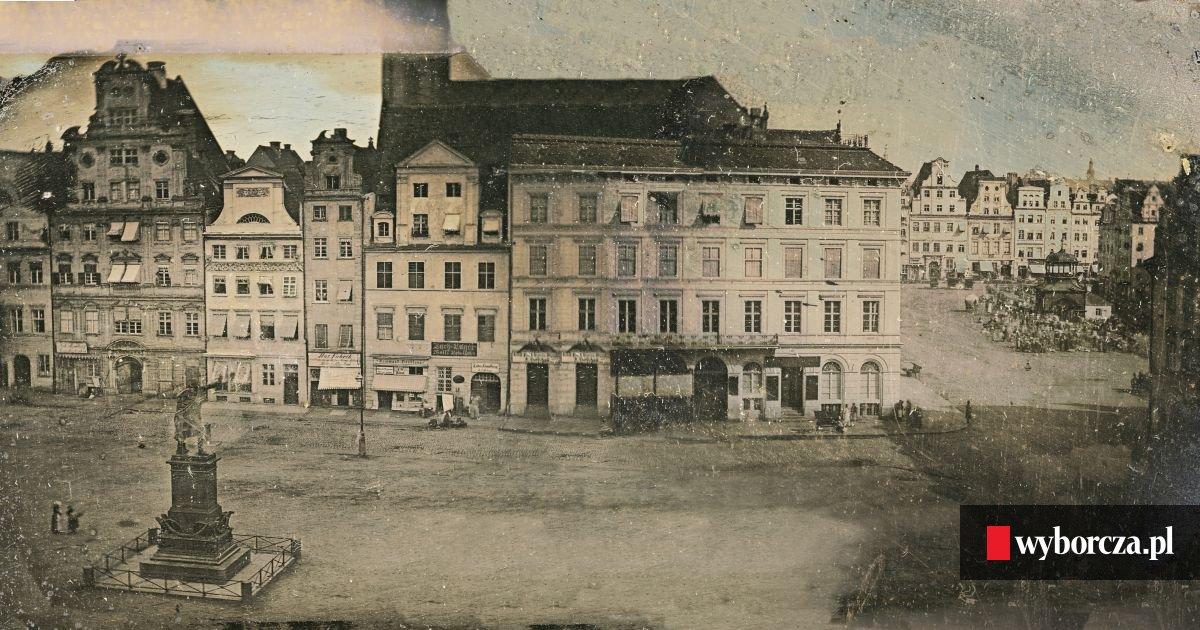 Najstarsze Fotografie Wroc Awia Miasto Jakiego Nie