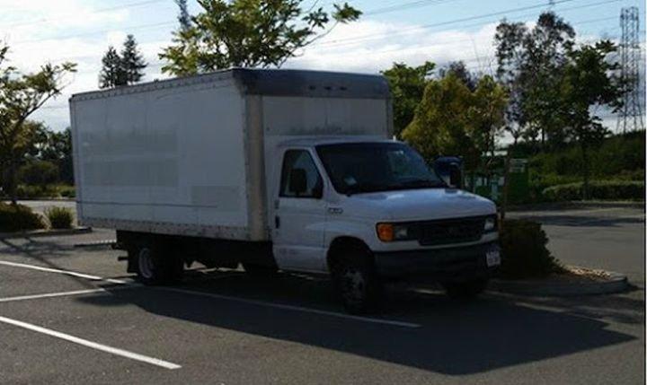 Ciężarówka - dom pracownika Google w San Francisco