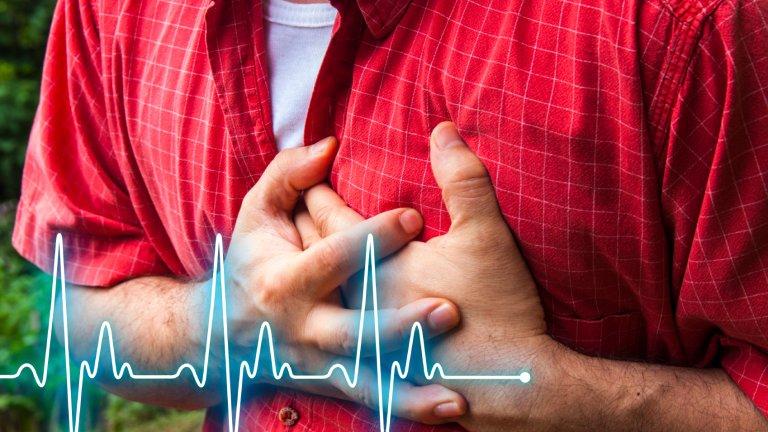 Męski zawał może objawić się poza bólem, dusznością, uczuciem zmęczenia i panicznym lękiem, zawrotami głowy, lub zimnymi potami.